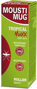 Moustimug Tropical MaXX 50% Deet Roller 50ml