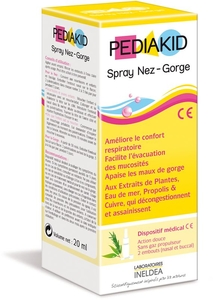 Pediakid Spray Nez-Gorge 20ml