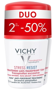 Vichy Déodorant Stress Resist Duo 2x50ml (2eme à -50%)