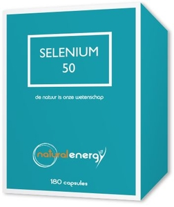 Selenium 50 Natural Energy 180 Capsules