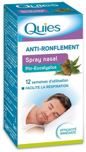 Quies Spray Nasal Pin-Eucalyptus 15ml