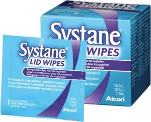 Systane Lid Wipes 30 Lingettes Nettoyantes