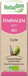Herbalgem Feminagem Complexe Cycle BIO Gouttes 15ml