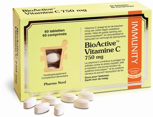 BioActive Vitamine C 750mg 60 Comprimés