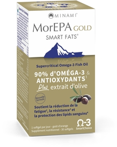 MorEPA Gold Smart Fats 30 Softgels