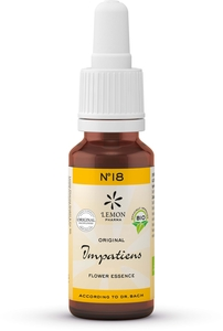 Fleurs du Dr. Bach (Lemon Pharma) Bio N18 Impatiens 20ml