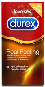 Durex Real Feeling Condoms 10