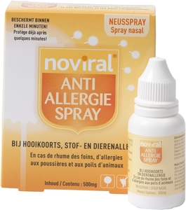 Noviral Spray Anti-Allergies Poudre 500mg