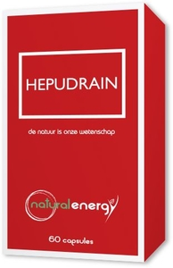 Hepudrain Natural Energy 60 Capsules