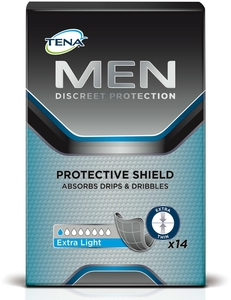 Tena For Men Protective Shield 14 Protections