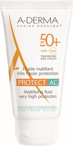 A-Derma Protect AC Fluide Matifiant IP50+ 40ml