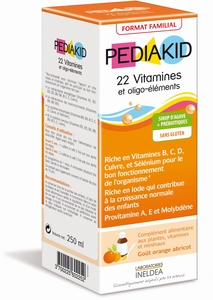 Pediakid 22 Vitamines & Oligo Elements Sirop 250ml
