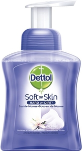 Dettol Soft on Skin Douceur de Mousse Orchidée Vanille 250ml