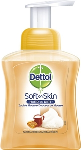 Dettol Soft on Skin Douceur de Mousse Miel Lait 250ml