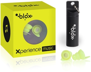 Blox Xperience Music 1 Paire Protections Auditives Jaune