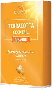 Biocyte Terracotta Cocktail Solaire 30 Gélules
