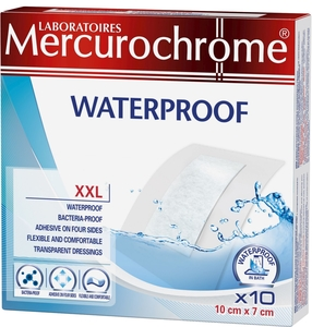 Mercurochrome Waterproof Xxl 10