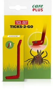 Care Plus Ticks-2-Go Pince à Tique