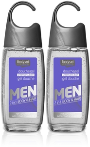 Bodysol Men Gel Douche Stressless Body 2 x 250ml (2ème produit à - 50%)