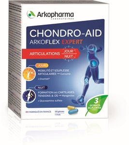 Chondro-Aid Arkoflex Expert Jour/Nuit 90 Capsules
