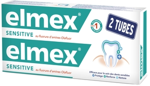 Elmex Sensitive Dentifrice Duopack 2x75ml