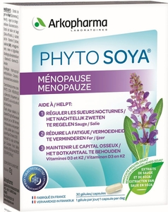 Phyto Soya Ménopause 30 Capsules