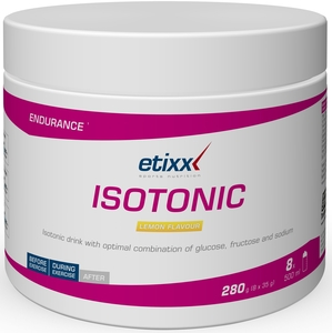 Etixx Isotonic Powder Lemon 280g
