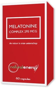 Natural Energy Melatonine Complex 295MCG 90 Capsules