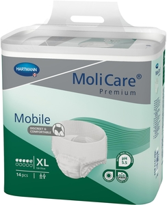 MoliCare Premium Mobile 5 Drops 14 Slips Taille Extra Large