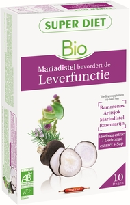 Super Diet Bien-Etre Hépatique Bio 20 Ampoules x 15ml