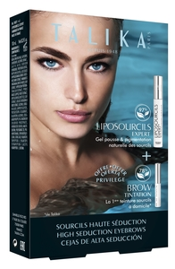 Talika Coffret Sourcils Haute Séduction Liposourcils Expert + Teinture Sourcils offerte