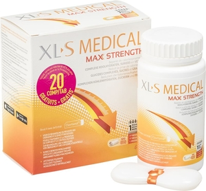 XLS Medical Maximum Strength 120 Comprimés (100 + 20 gratuits)