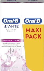 Oral-B 3D White Whitening Therapy Dentifrice 2x75ml (maxipack)