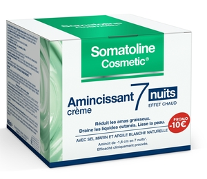 Somatoline Cosmetic Gel Amincissant 7 Nuits Ultra Intensif 400ml (prix spécial -10€)