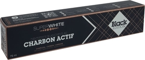 Superwhite Dentifrice Blanchissant Charbon Actif Black Edition 75ml