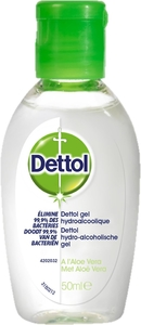Dettol Antibacterial Gel Aloe Vera 50Ml