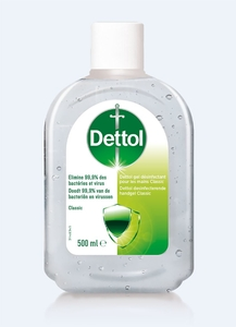 Dettol Antibacterial Hand Gel 500Ml