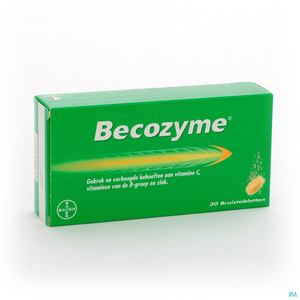 Becozyme 30 Comprimés Effervescents