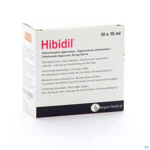 Hibidil Solution 10x15ml Unidose