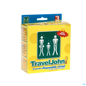 Travel John Urinal Jetable 3