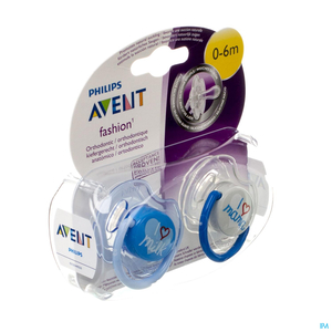 Philips Avent Sucette Fashion Double 0- 6m 2